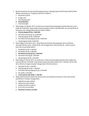 Soal Pg 3 Perhitungan 2 Essai Docx 1 Biaya Transportasi Barang Yang Ditanggung Penjual Sehingga Bagi Pembeli Harga Pokok Produk Tidak Ternasuk Biaya Course Hero