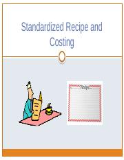 Standardized Recipe and Costing [Autosaved]