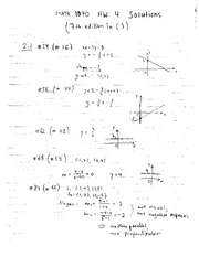 Math 1090 Homework 4 Solutions 2011