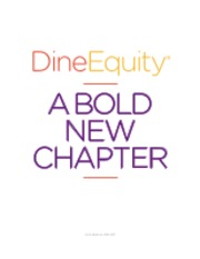 DineEquity Fiscal 2015 Annual Report