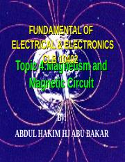 Topic 4 Magnetism and Magnetic Circuits.ppt