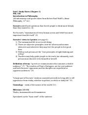 Unit 1 Study Notes (Chapter 1)-Class Version.docx