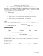 hhq form