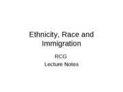 346 Ethnicity, Race and Immigration