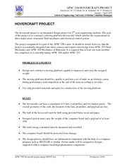 project outline 2009