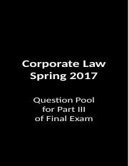Corporate Law Question Pool.pptx