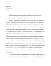 Rawls reflection Paper