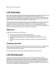 AFR 110, Lesson 10 Overview.docx