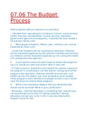 07.06 The Budget Process.docx