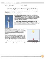 Electromagnetic Induction Gizmo - ExploreLearning.pdf ...