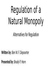 regulating a natural monopoly.pptx