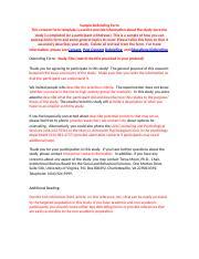 Irb Sbs Sample Debriefing Template Sample Debriefing Form This