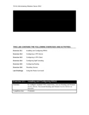 70-411 print LM Lab 10 Worksheet
