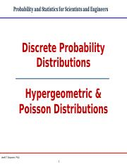 Hypergeometric and Poisson Distributions-6-18