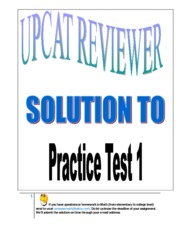 33053073-Solution-UPCAT-Practice-Test-1
