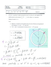 EM345 Exam1_2015F - Solution