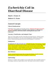 E.coli in diarrheal disease.doc