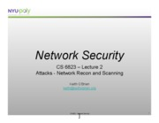 lecture 2 - Network Recon