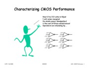 L06 Characterizing CMOS Performance