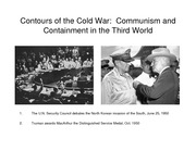 Lecture 14 Communism and Containment in the Third World pdf version
