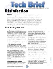 Water Disinfection.pdf