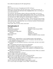 ReviewSheet-Eutrophication_II_of_III