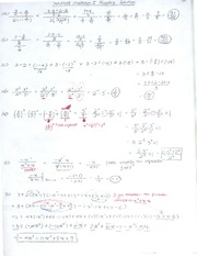 Midterm I Solution