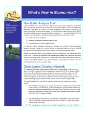 What's New in Economics Newsletter April May
