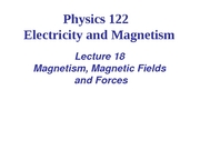 L18_Viet_Magnetism_Magnetic Fields and Forces