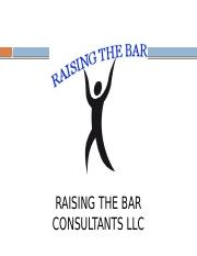 RAISING THE BAR PROJECT.pptx