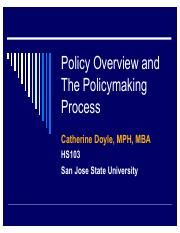 9 5 18  Policymaking Process, HS103, S18.pdf