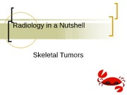 RADD 3713 Skeletal Tumors Review