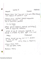 External Forces Notes