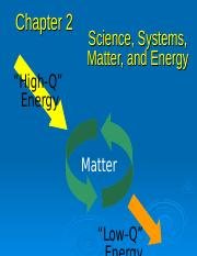 chapter 2 science, systems, matter, and energy1.ppt