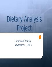Dietary Analysis Project.pptx
