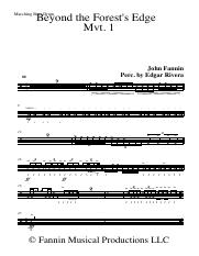 Beyond The Forest_s Edge - Full Score - Marching Bass Drum.pdf