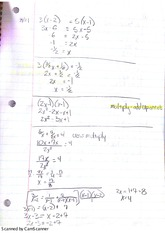 Lesson 1 Notes Review and Completing the Square