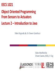 Lecture 2 - Introduction to Java.pdf
