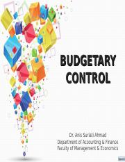 201610051610442 - Budgetary Control.ppt