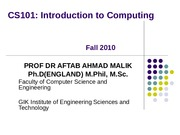 3 Software-Concepts-CS101-Fall2009