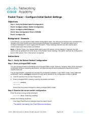 2.5.5 Packet Tracer - Configure Initial Switch Settings.pdf