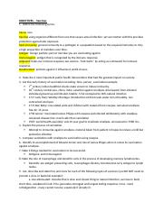 Lecture 8 Study Guide