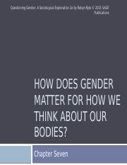 Questioning Gender Chapter 7 PPT