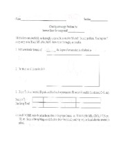 C344 Spectroscopy Problem Set