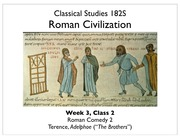 06+Roman+Comedy+and+Quiz+Review