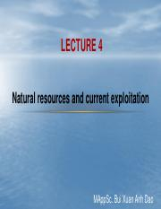 Lecture 4 Natural resources and utilization (Soil and food).pdf