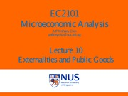lect 10 externalities n public goods
