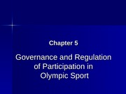 Legal Issues In Sport Chapter 5 PP