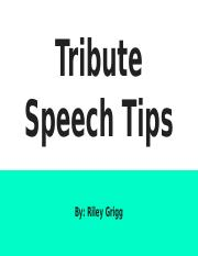 Special Occasion Speech Tips.pptx