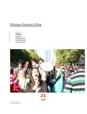 Refugee Research Blog PUBLIC ATTITUDES TOWARDS ASYLUM SEEKERS AND REFUGEES.docx